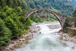 Şenyuva Taş Köprü, Çamlıhemşin