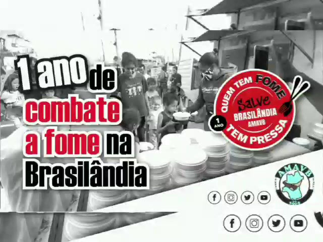 1 ANO DE COMBATE A FOME NA BRASILÂNDIA