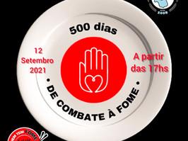 LIVE 500 DIAS DE COMBATE A FOME