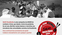 "No Bairro da Brasilândia falta tudo, menos a ""FOME"""