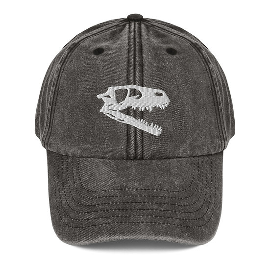 Edward Cope Dinosaur Hunting Apparel Coelophysis Vintage Dad Cap