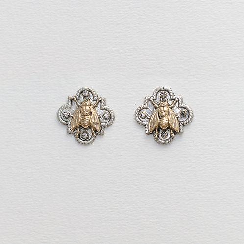 Bee Amulet Earrings