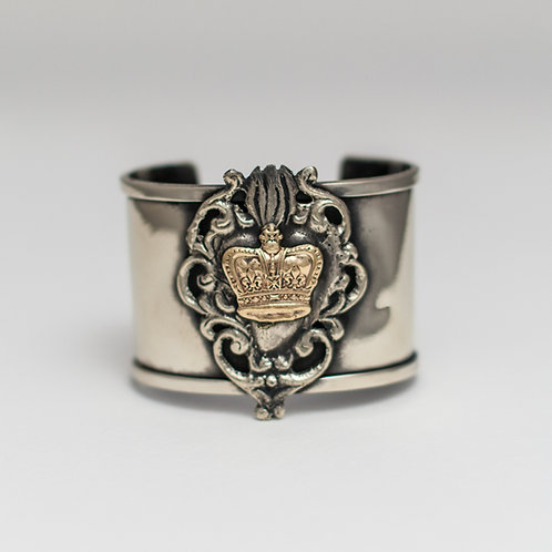 Sacred Heart Crown Bracelet