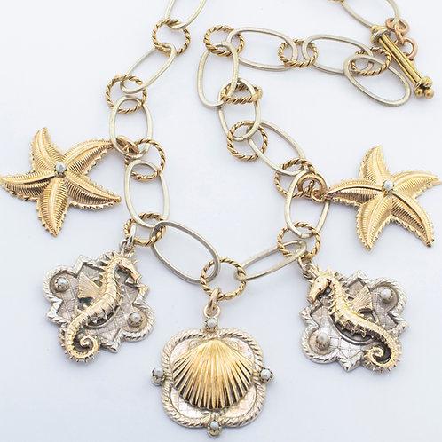 Five Charm Necklace
