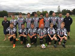 Dowlish and Donyatt Football Team Septem