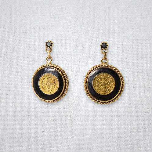 San Benito Earrings Black