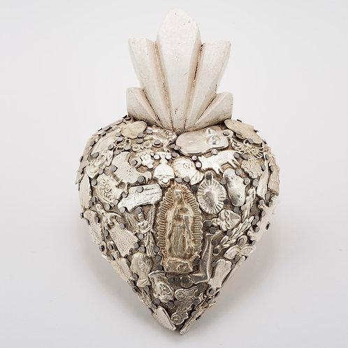 "Milagro Sacred Heart - Mediano 7"" h"