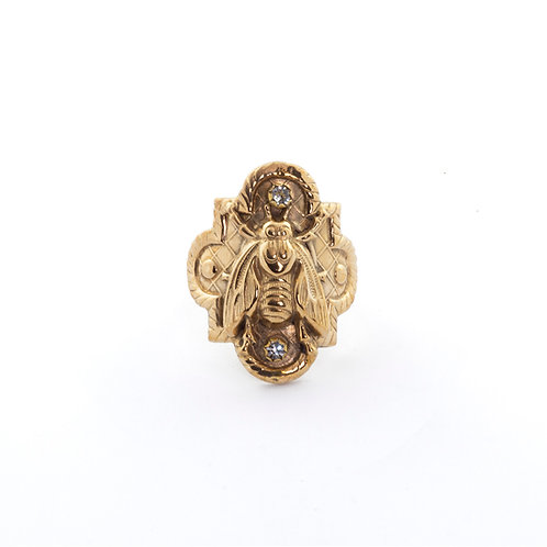 Bee Gold Ring