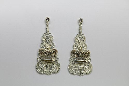 España Crown Earrings