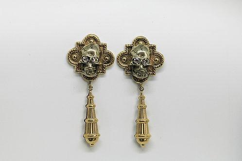 Calavera Pendant Earrings