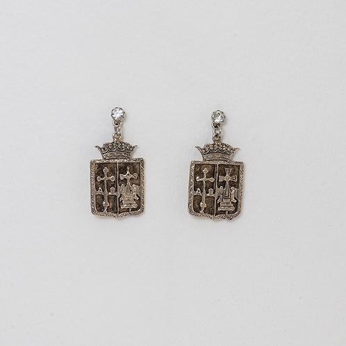 Coat of Arms Earrings – Cross