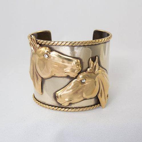 Horse Bracelet Clear Eyes