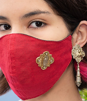 Solid Color Masks with Pin