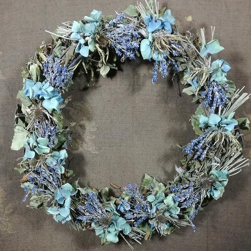 Krans van Wilg & Berk met Lavendel