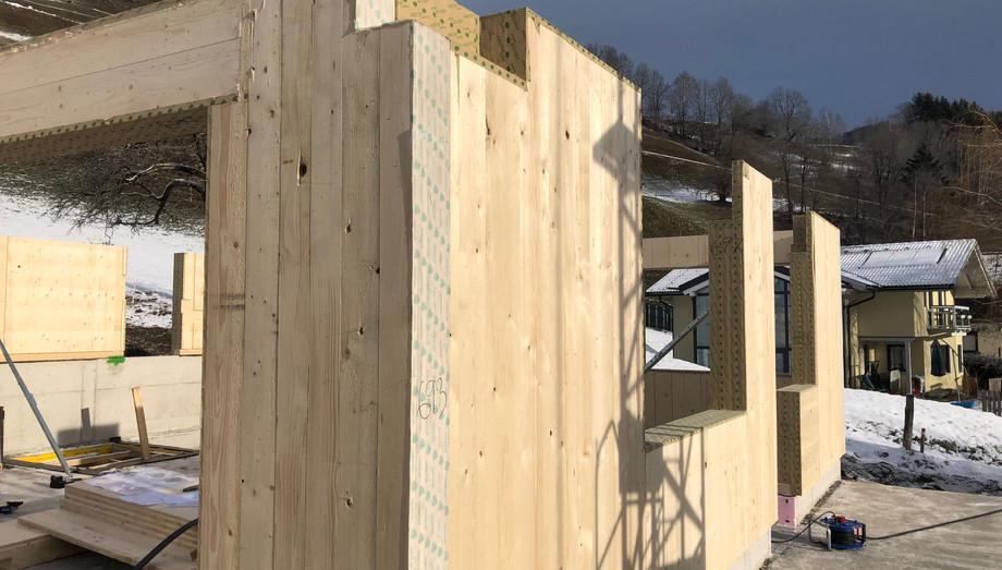 Montage Massiv-Holz-Mauer®