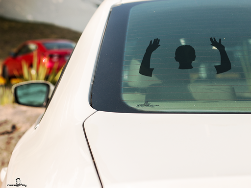 Hands Up Decal