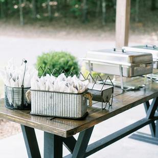 Outside Food Table