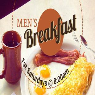 Men's breakfast | 1st Saturdays
