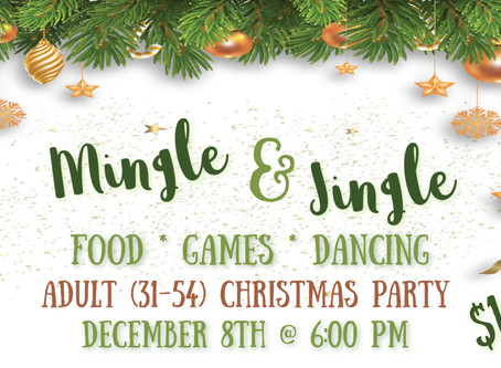 Mingle Jingle Adult Christmas Party