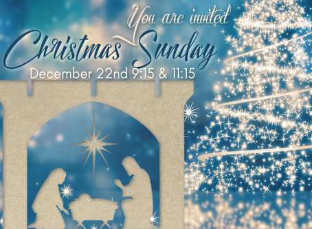 Christmas Sunday Dec.23rd