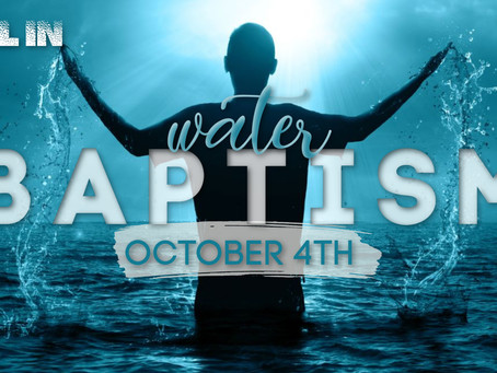 Baptism | ALLiN  | Oct 4th
