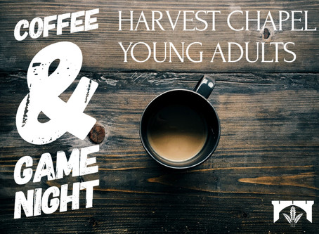 HCYA Coffee & Game night - January 24th
