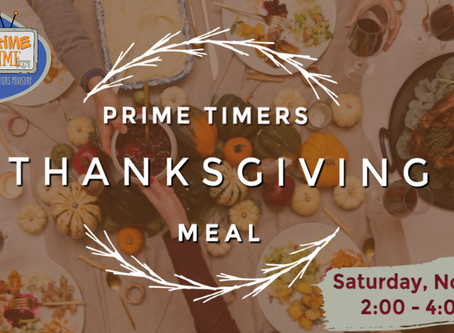 Prime Time Thanksgiving Dinner