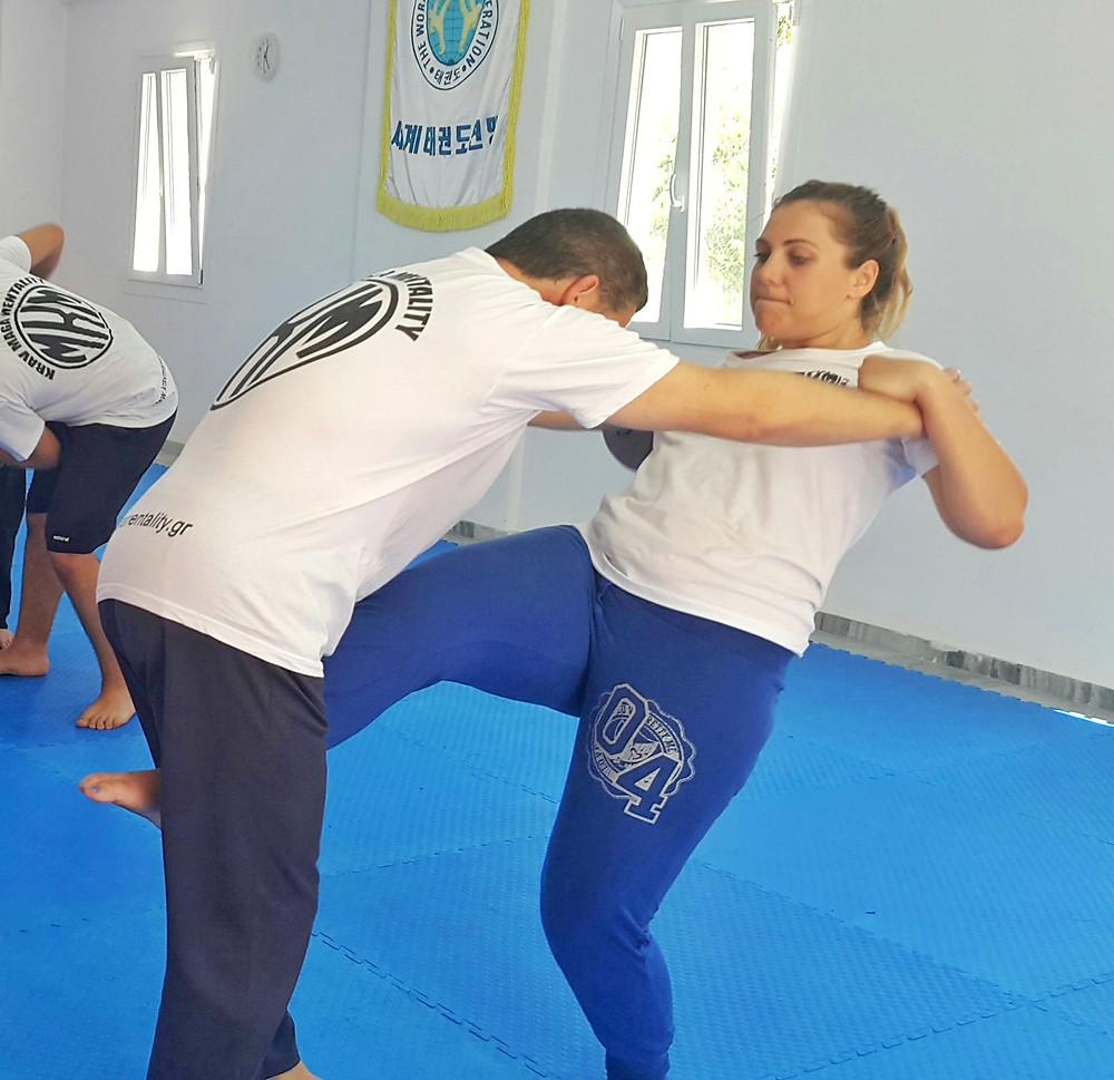 krav maga paros mentality women self defense