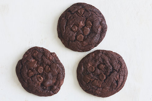 Chocolate Chocolate Chip (6 cookies)