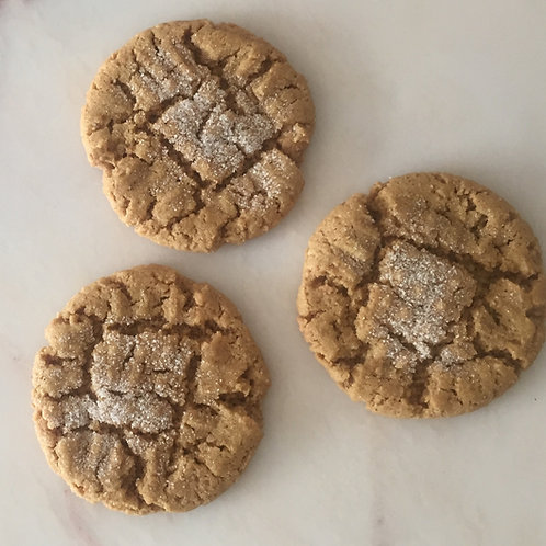 Vegan Peanut Butter (6 cookies)