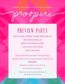 Prospère Preview Party