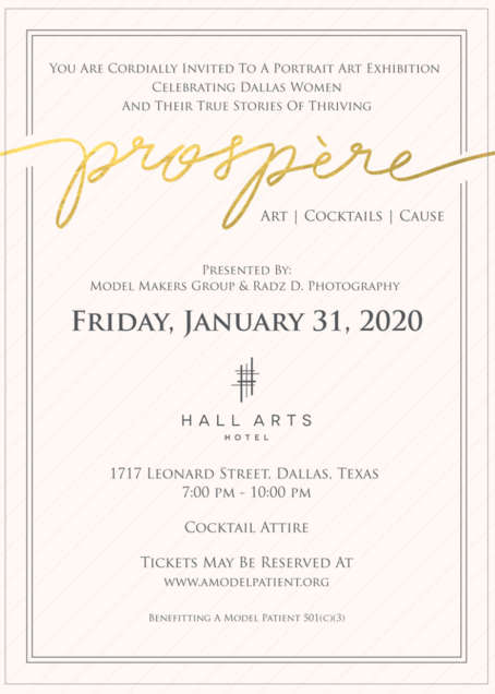 Prospère: Art | Cocktails | Cause