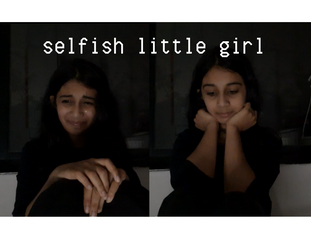 a selfish little girl
