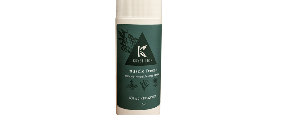 CBD muscle freeze