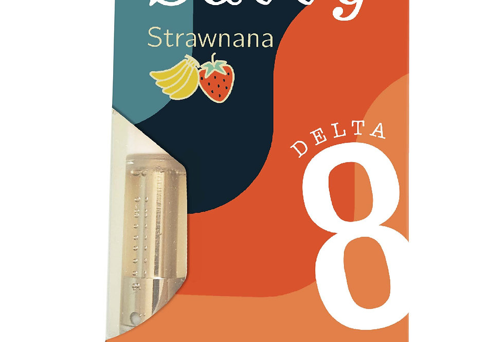 Delta-8-THC Vape Cartridge Strawnana