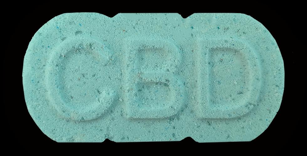 relief CBD bath bomb