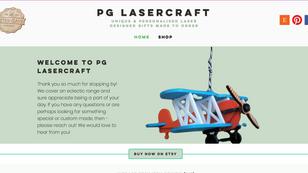 PG Laser Craft (Etsy Homepage)