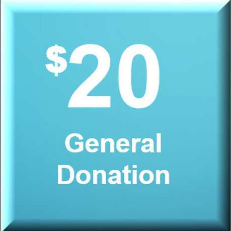 General Donation $20