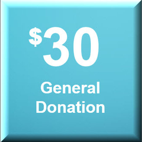 General Donation $30