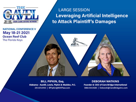 Leveraging Artificial Intelligence to Attack Plaintiff's Damages