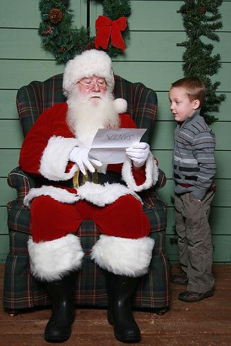 Santa's COVID List