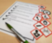 WHMIS safety data sheets checklist train