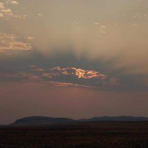 Sunset, Sixmile Hill
