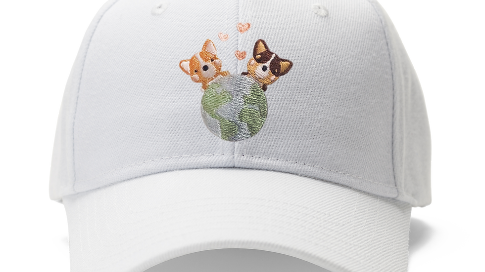 Corgis for a Cause Dad Hat