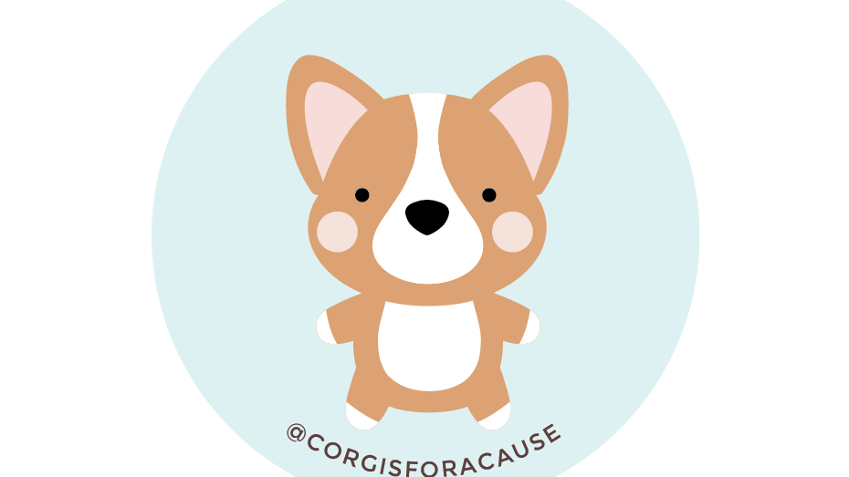 Corgis for a Cause Stickers