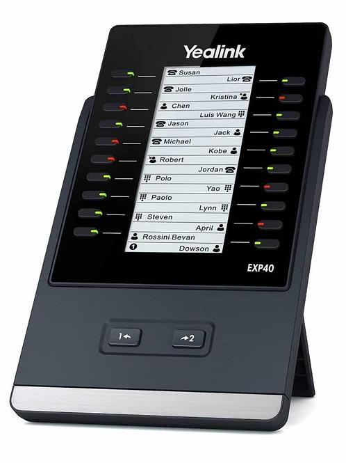 Botonera de expansión EXP40. LCD de gráfico 160 x 320. 20 teclas físicas