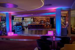 DJ David Rzenno im Mercur Hotel