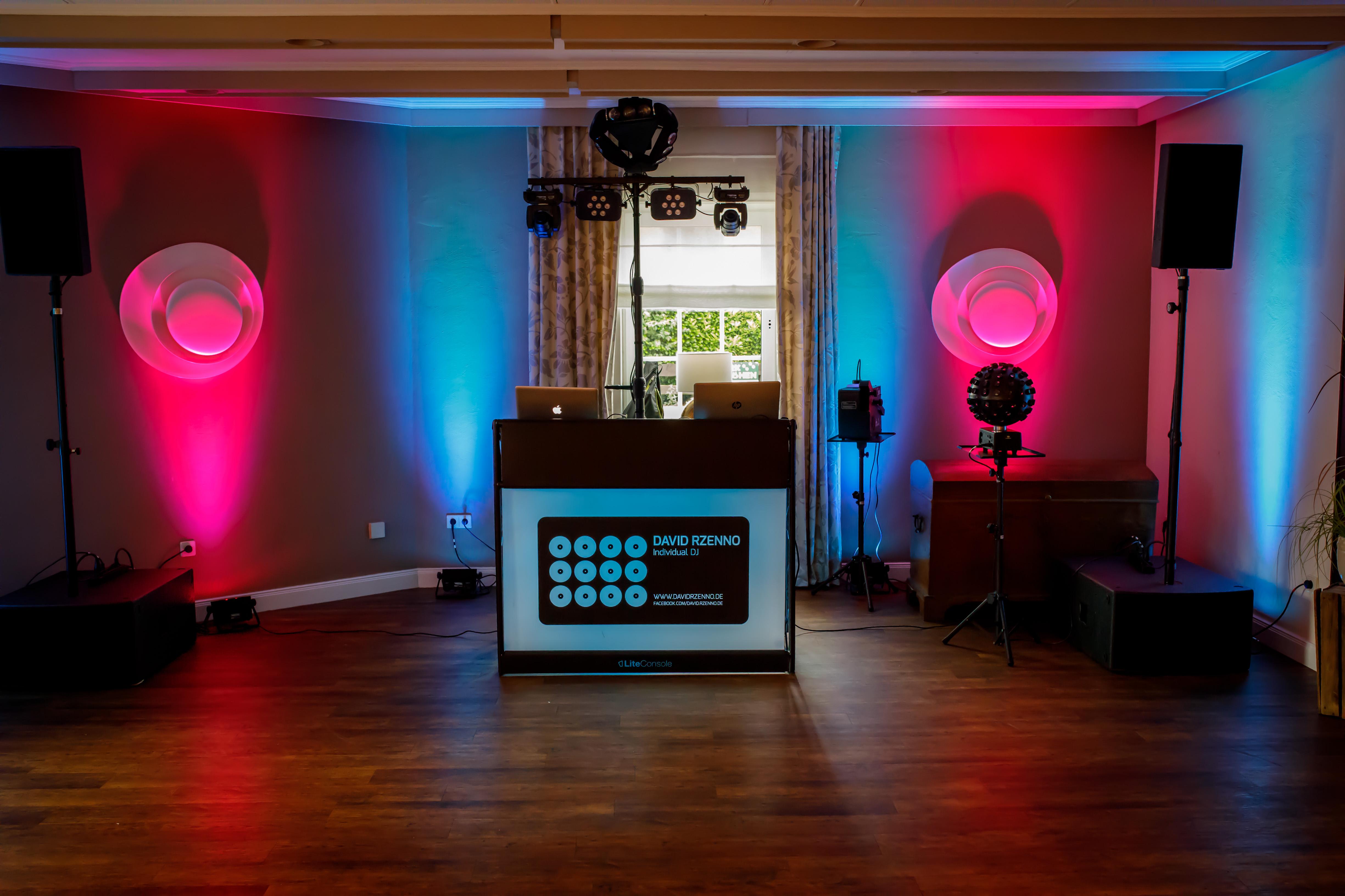 DJ David Rzenno Ambient Beleuchtung