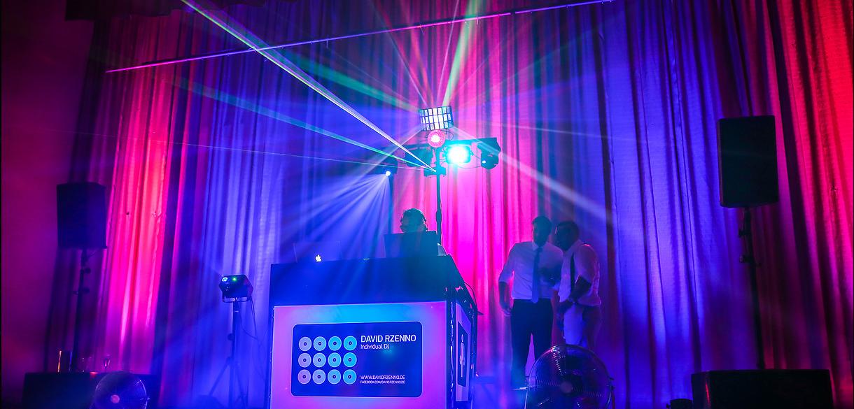 DJ David Rzenno Lasershow