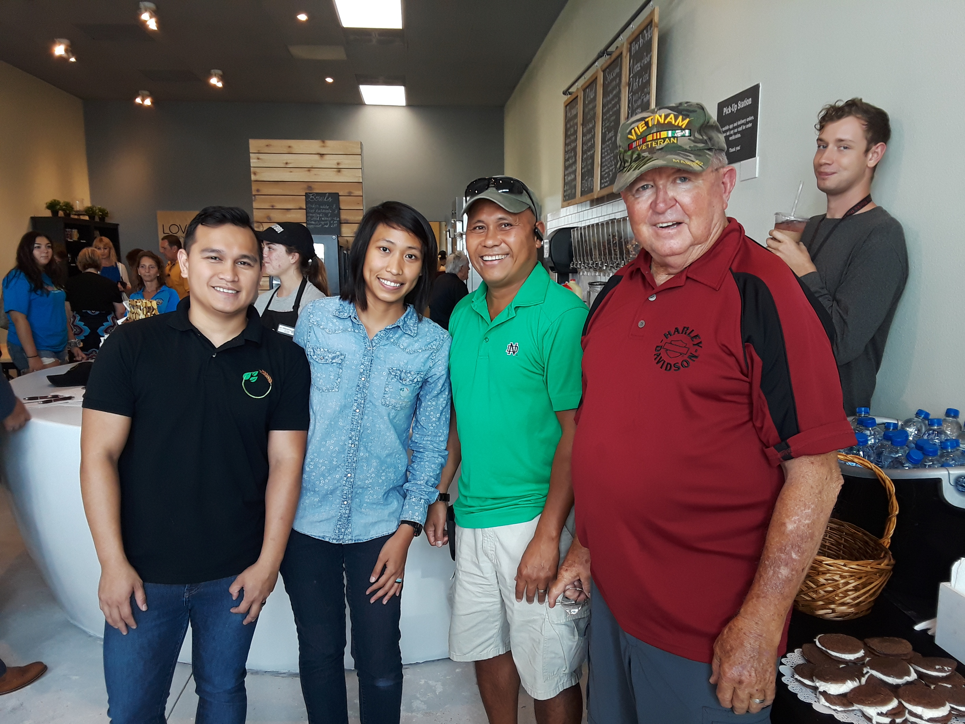 Support to Vet Owned _TBD_ Ribbon Cutting Ceremony 23 July 2018